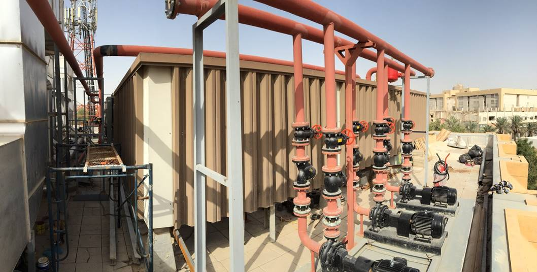 INSTALLATION OF CHILLED WATER PUMP