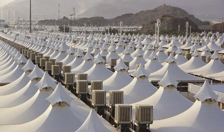 مشروع صيانة وتشغيل وحدات التكييف بمخيمات الحجاج بمشعر منى (مكة المكرمة)